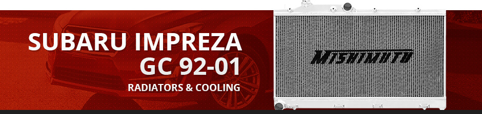 SUBARU IMPREZA GC 92-01 RADIATORS & COOLING