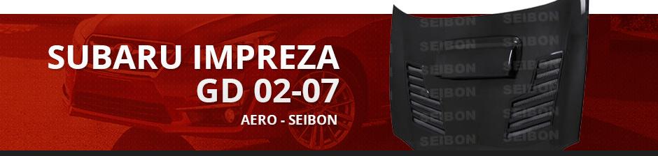 SUBARU IMPREZA GD 02-07 AERO - SEIBON