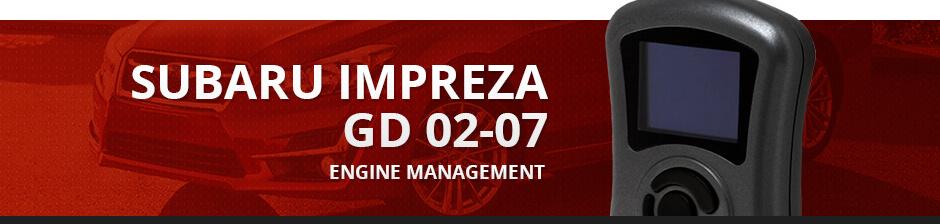 SUBARU IMPREZA GD 02-07 ENGINE MANAGEMENT