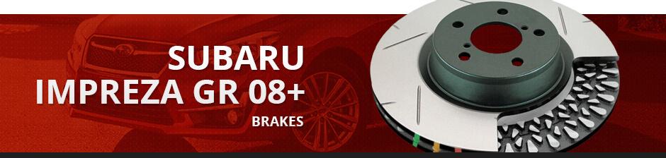 SUBARU IMPREZA GR 08+ BRAKES