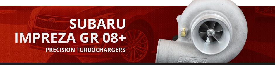 SUBARU IMPREZA GR 08+ PRECISION TURBOCHARGERS