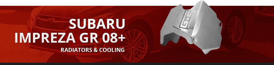 SUBARU IMPREZA GR 08+ RADIATORS & COOLING