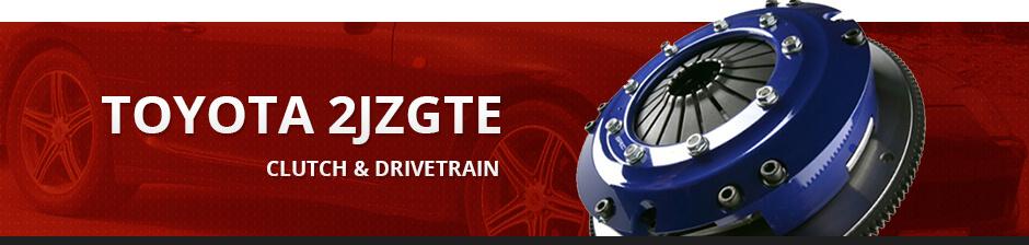 TOYOTA 2JZGTE CLUTCH & DRIVETRAIN