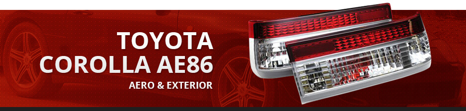 TOYOTA COROLLA AE86 AERO & EXTERIOR