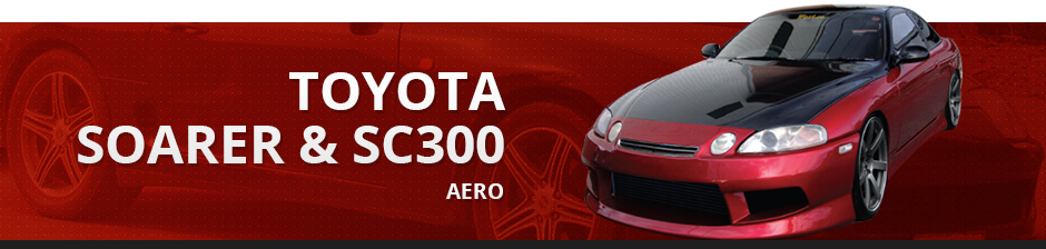TOYOTA SOARER & SC300 AERO