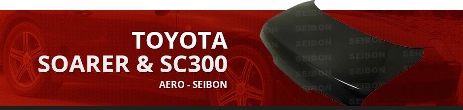 TOYOTA SOARER & SC300 AERO - SEIBON