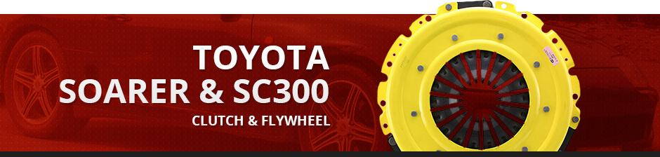 TOYOTA SOARER & SC300 CLUTCH & FLYWHEEL